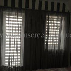 Классическая штора из ткани Benisa
