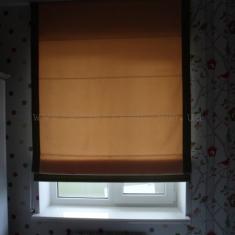 римские шторы с кантом